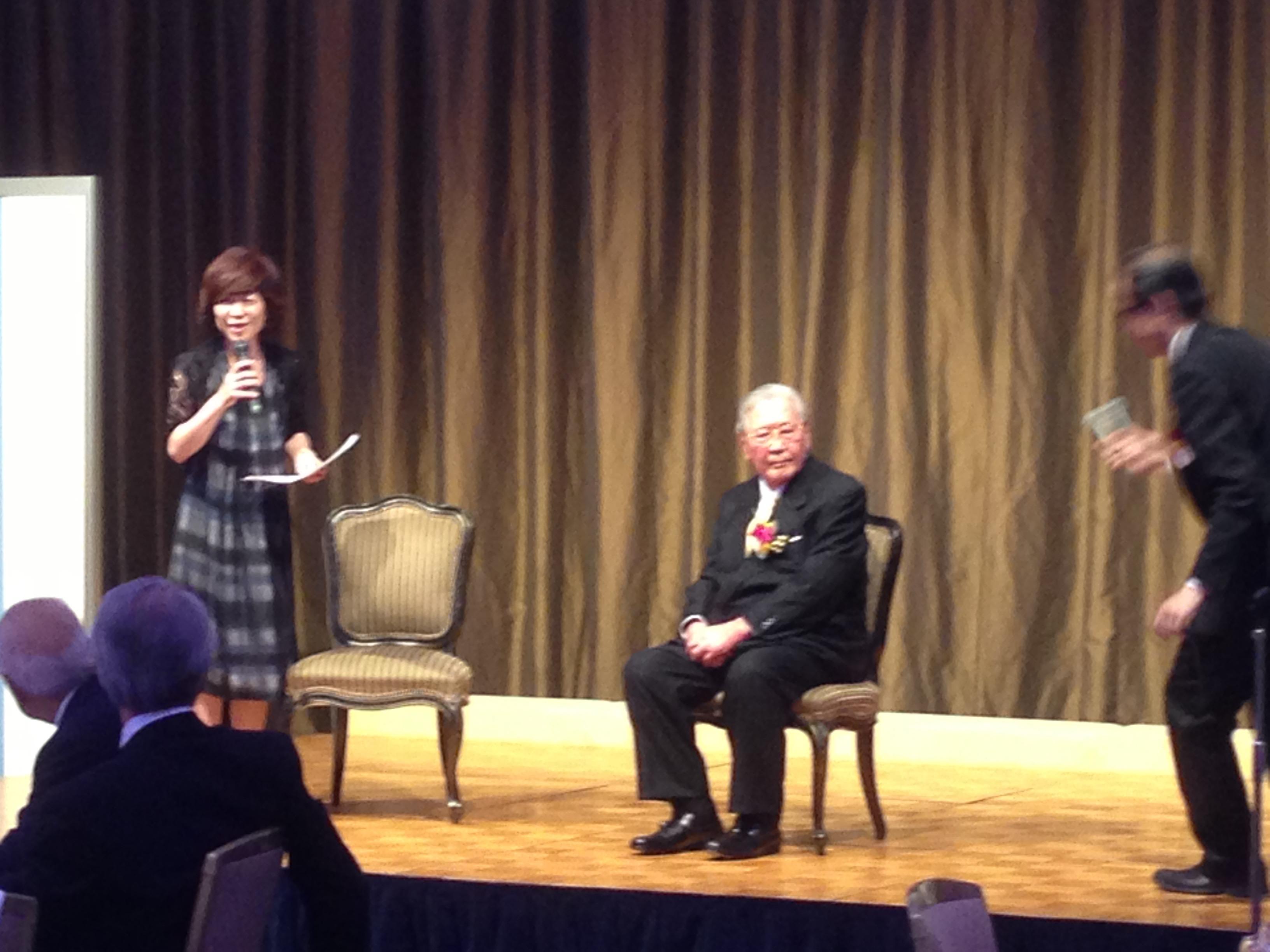 田中健藏先生の卆寿のお祝い